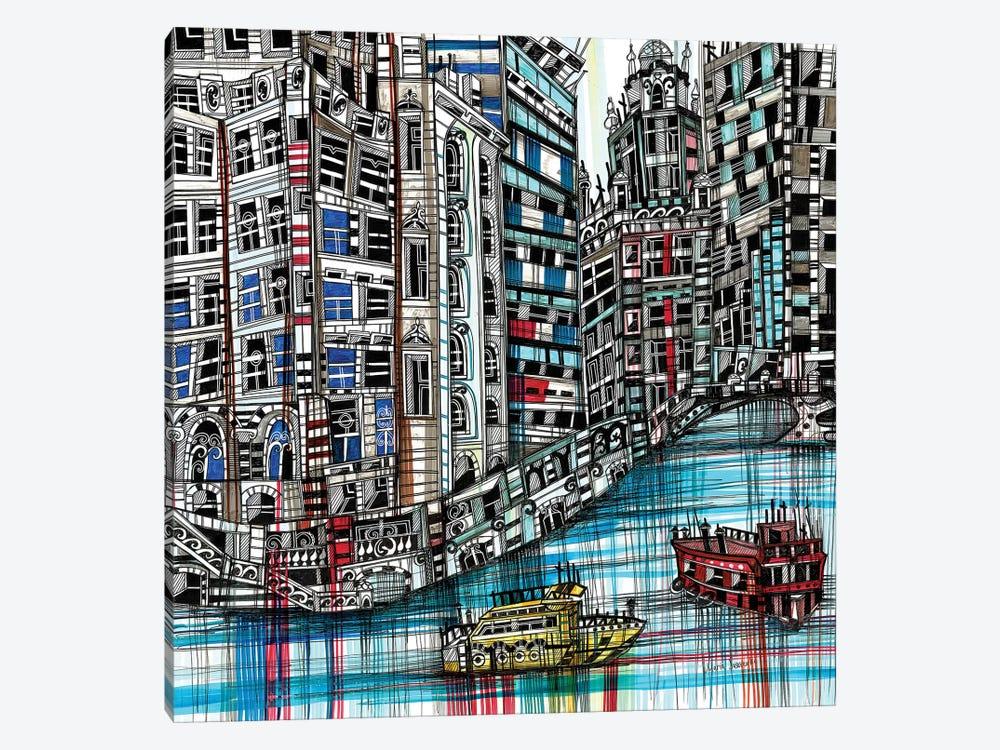 Chicago by Maria Susarenko 1-piece Canvas Artwork