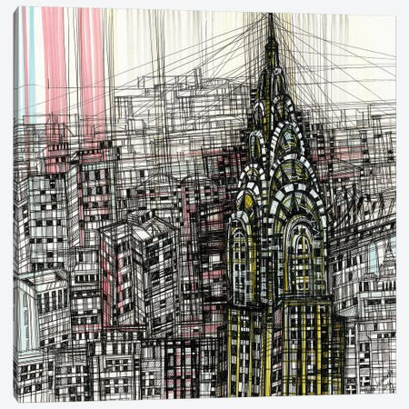 Chrysler Building Canvas Print #SSR24} by Maria Susarenko Canvas Print