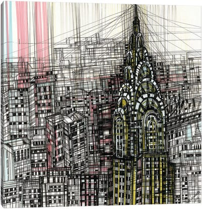 Chrysler Building Canvas Art Print