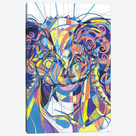 Echoes 3-Piece Canvas #SSR31} by Maria Susarenko Canvas Art Print