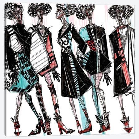 Fashion Illustration II Canvas Print #SSR33} by Maria Susarenko Canvas Print