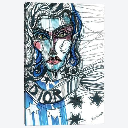 Fashion Illustration I Canvas Print #SSR34} by Maria Susarenko Canvas Art
