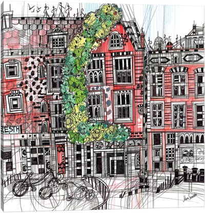 Amsterdam I Canvas Art Print