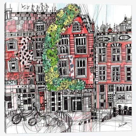Amsterdam I Canvas Print #SSR3} by Maria Susarenko Canvas Artwork