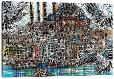 Istanbul Canvas Art Print