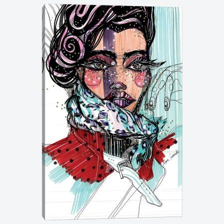 Kitsch Queen Canvas Print #SSR43} by Maria Susarenko Canvas Wall Art
