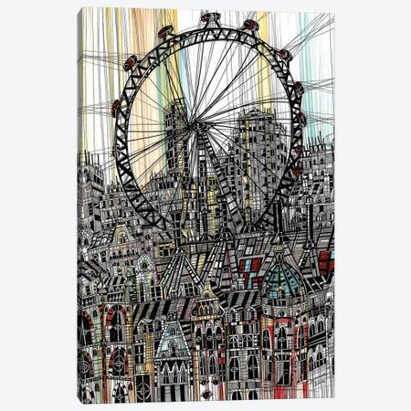 London Eye II Canvas Print #SSR47} by Maria Susarenko Canvas Art Print