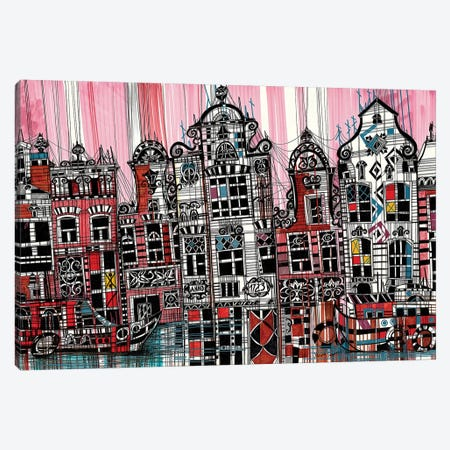 Amsterdam II Canvas Print #SSR4} by Maria Susarenko Canvas Art Print