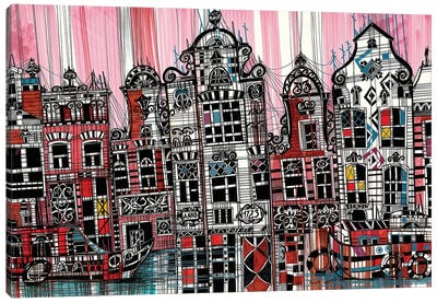 Amsterdam II Canvas Art Print