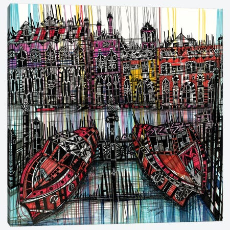 Amsterdam III Canvas Print #SSR5} by Maria Susarenko Canvas Art Print