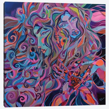 Porcelain Face Canvas Print #SSR61} by Maria Susarenko Canvas Art