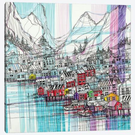 Reine.Norway Canvas Print #SSR65} by Maria Susarenko Canvas Print