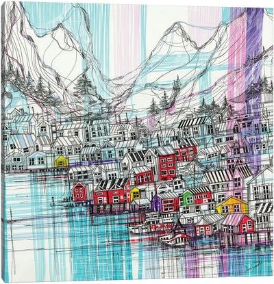 Reine.Norway Canvas Art Print
