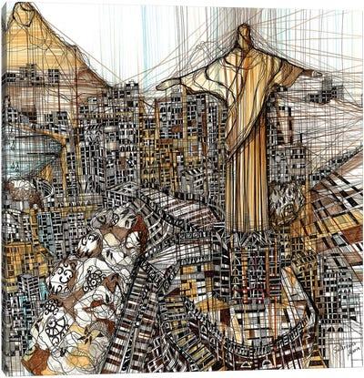 Rio Canvas Art Print