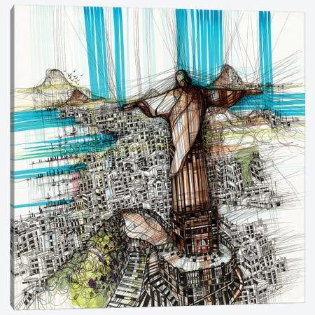 Riodejaneiro Canvas Print #SSR67} by Maria Susarenko Art Print