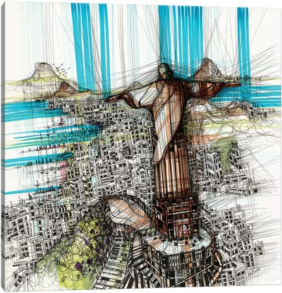 Riodejaneiro Canvas Art Print