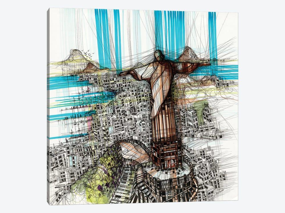 Riodejaneiro by Maria Susarenko 1-piece Canvas Print