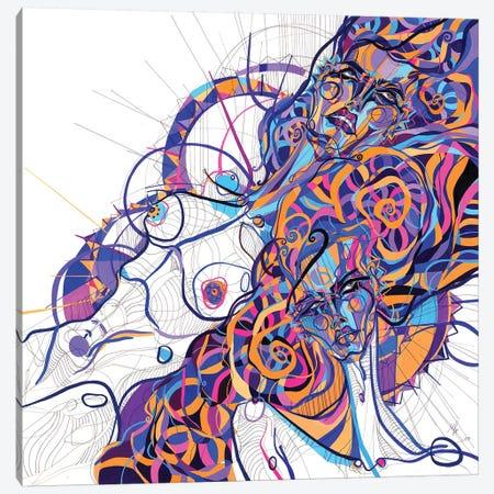 Scissors Sisters Canvas Print #SSR71} by Maria Susarenko Canvas Print
