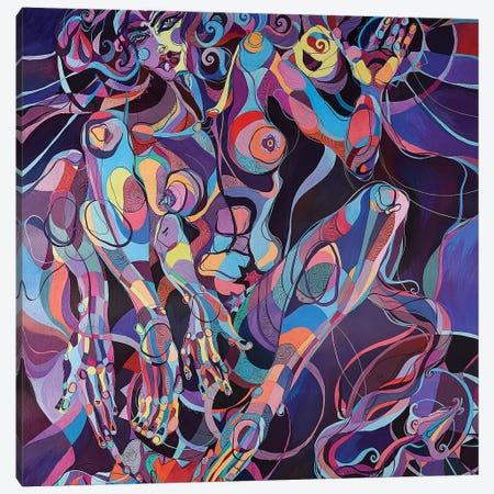 Self-Gratification I 3-Piece Canvas #SSR72} by Maria Susarenko Canvas Art Print