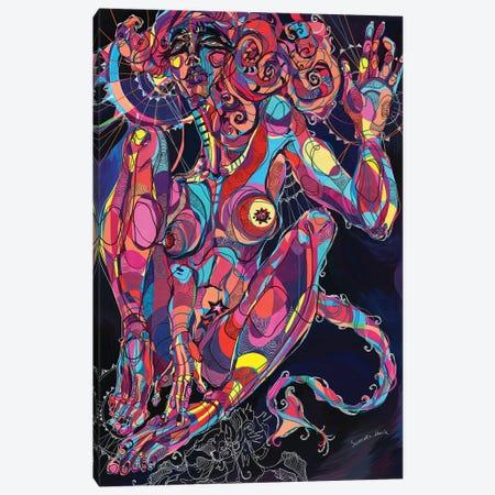 Self-Gratification II 3-Piece Canvas #SSR73} by Maria Susarenko Canvas Art Print