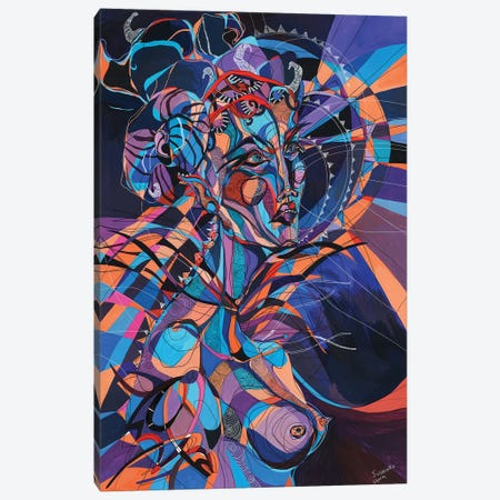 Sickdope Canvas Print #SSR75} by Maria Susarenko Canvas Wall Art