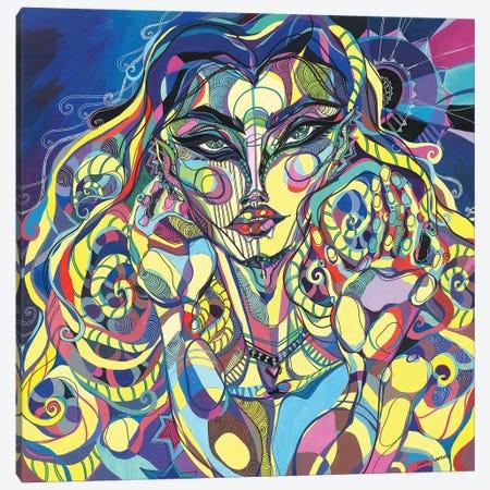 Sophia 3-Piece Canvas #SSR77} by Maria Susarenko Canvas Wall Art