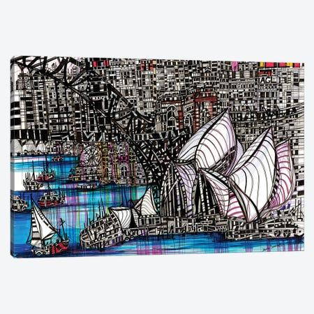 Sydney, Australia Canvas Print #SSR83} by Maria Susarenko Canvas Wall Art