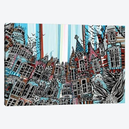 Amsterdam.Birds Canvas Print #SSR8} by Maria Susarenko Canvas Art
