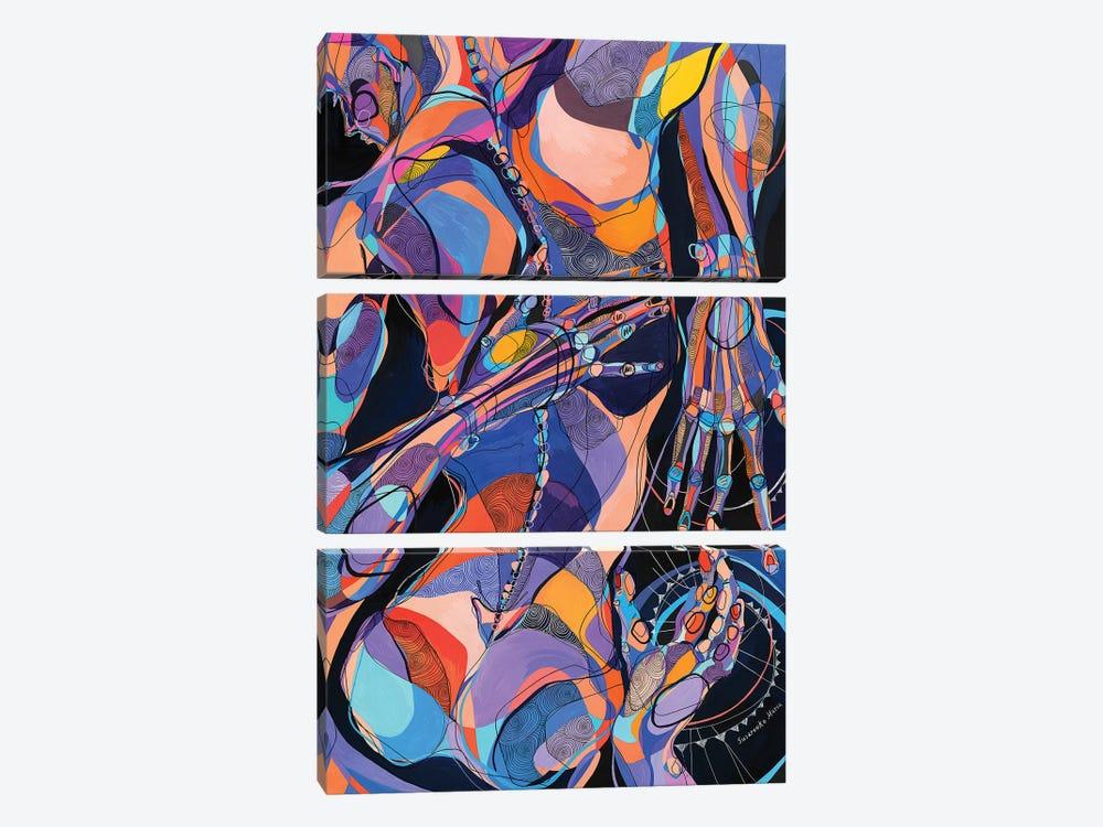 Unknown by Maria Susarenko 3-piece Canvas Wall Art
