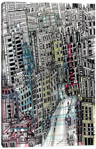 Urban New York Canvas Art Print