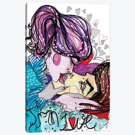 Valentine Canvas Print #SSR95} by Maria Susarenko Canvas Wall Art