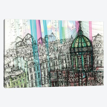 Isaac's Cathedral Canvas Print #SSR99} by Maria Susarenko Canvas Art Print