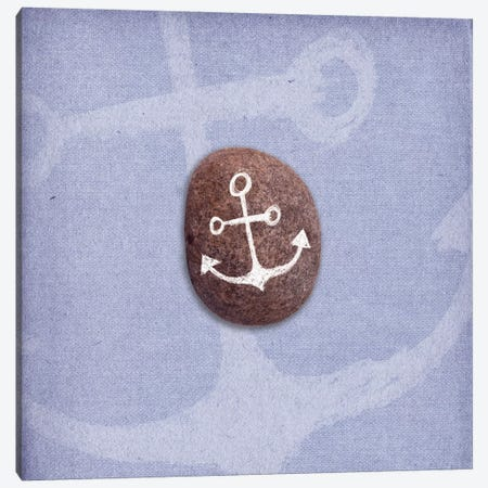 Anchors Up Canvas Print #SSS2} by 5by5collective Art Print