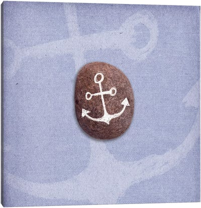 Anchors Up Canvas Art Print