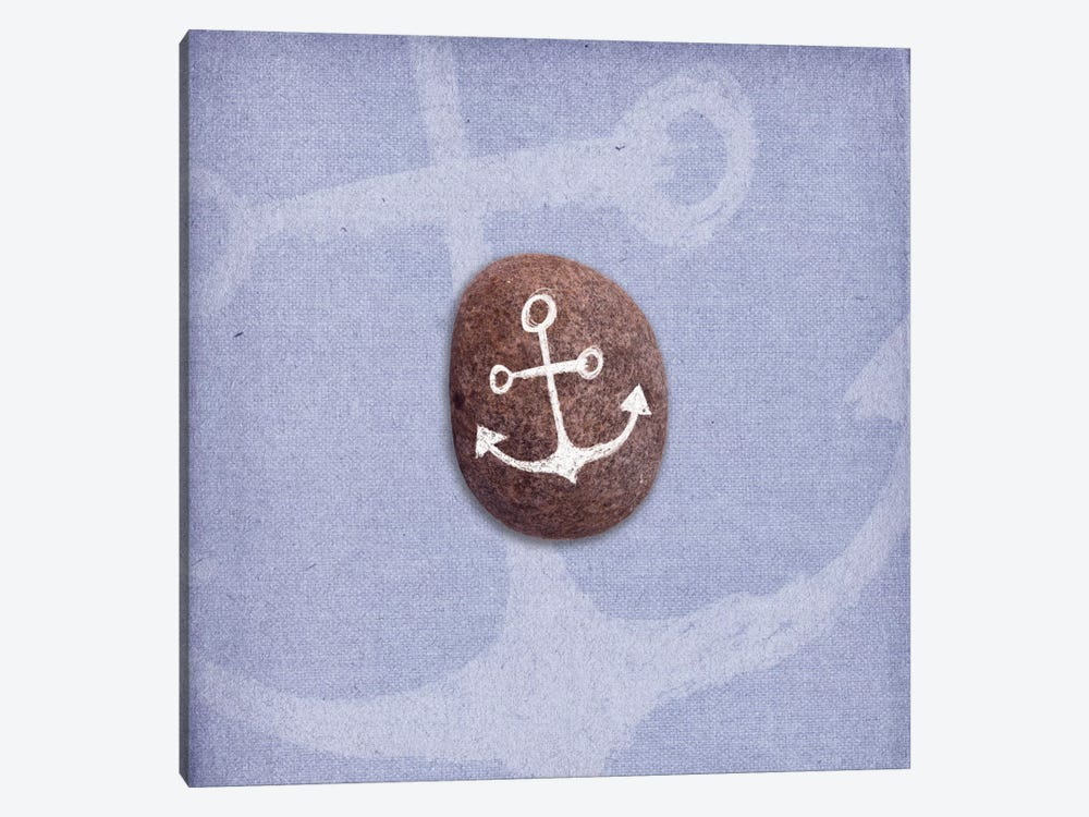 Anchors Up by 5by5collective 1-piece Canvas Print
