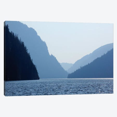 Majestic Landscape, Misty Fjords National Monument, Tongass National Forest, Alaska, USA Canvas Print #SST1} by Savanah Stewart Canvas Artwork