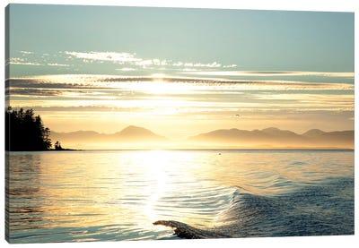 Seascape Sunset, Alaska, USA Canvas Print #SST2