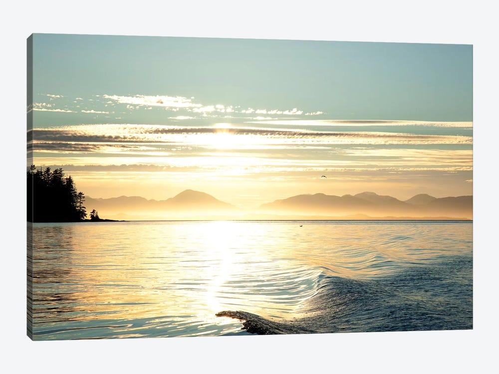 Seascape Sunset, Alaska, USA by Savanah Stewart 1-piece Canvas Wall Art