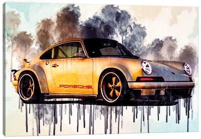 Singer Dls 2018 Porsche 911 Sports Tuning German Sports Cars Canvas Art Print