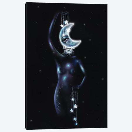 Moonlight Canvas Print #SSZ10} by Stephanie Sanchez Art Print