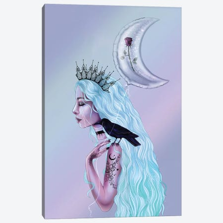 Pastel Goth Canvas Print #SSZ12} by Stephanie Sanchez Canvas Art Print