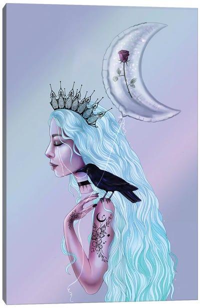 Pastel Goth Canvas Art Print