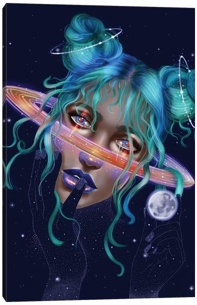 Saturn Canvas Art Print