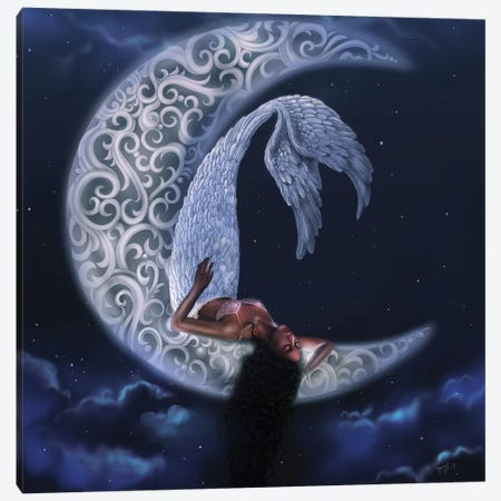 Serenity Canvas Print #SSZ17} by Stephanie Sanchez Canvas Artwork