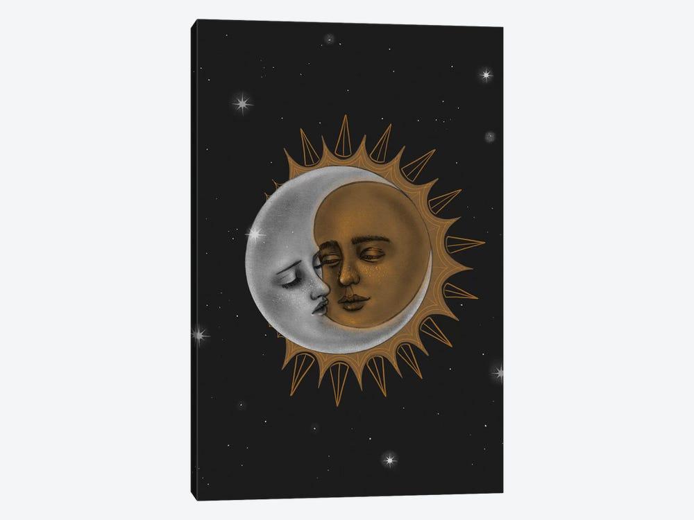 Sun And Moon Canvas Artwork By Stephanie Sanchez Icanvas