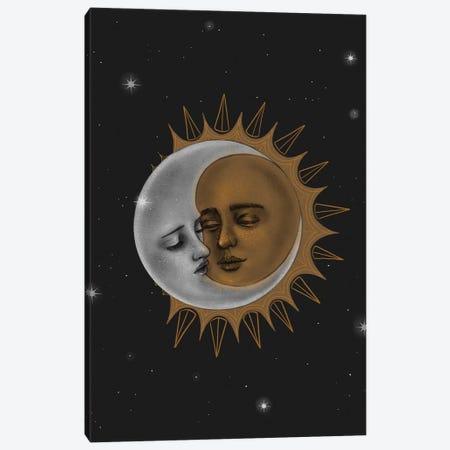 Sun And Moon Canvas Print #SSZ20} by Stephanie Sanchez Canvas Art