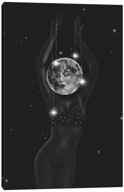 The Dancing Moon Canvas Art Print