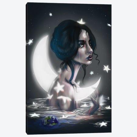The Sky Is Falling Canvas Print #SSZ22} by Stephanie Sanchez Canvas Wall Art