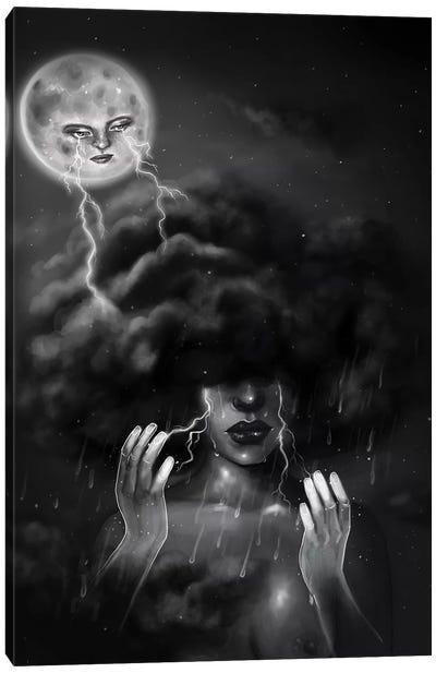When It Rains It Pours Canvas Art Print