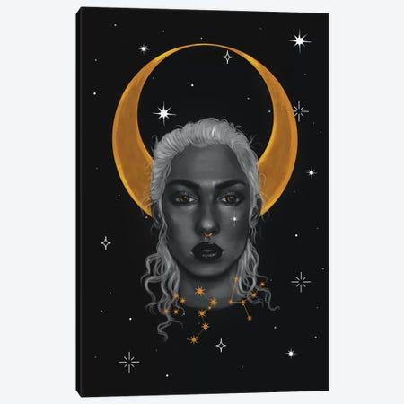 Lady Of The Moon I Canvas Print #SSZ28} by Stephanie Sanchez Canvas Art